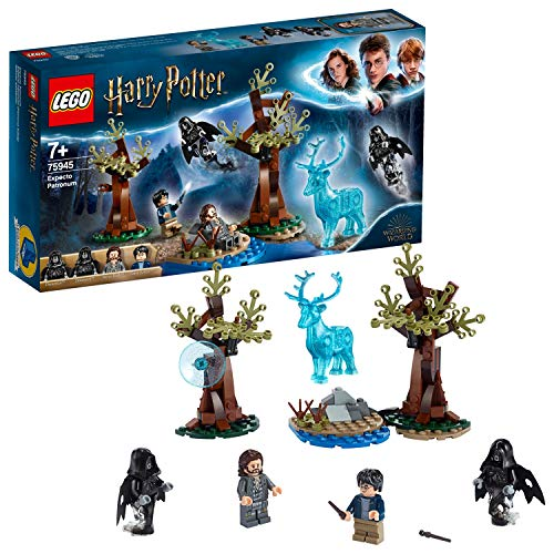 LEGO 75945 Harry Potter Expecto Patronum Set with 4 Minifigures and Patronus Stag Figure Toy, Multicolour Best Price and Cheapest