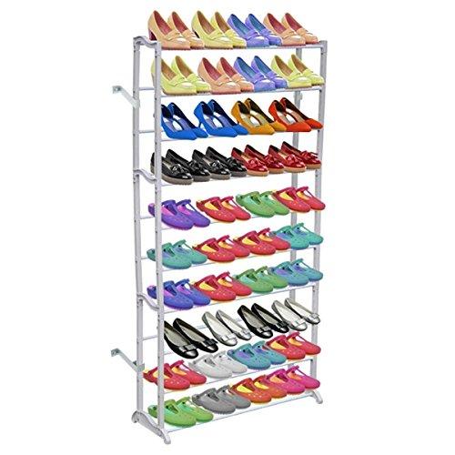 vidaXL Schuhregal für 40 Paar Schuhe Schuhschrank Schuhständer 140cm Schuh Regal