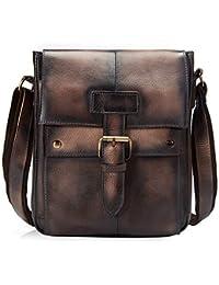 88098046385a Le aokuu Mens Casual Satchel Laptop Shoulder Sling Bag Travel School  Designer Strap Cross-Body Messenger Bag…