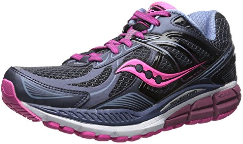 SAUCONY ECHELON 5 GREY/PINK/BERRY   Zapatos de moda en línea Obtenga el mejor descuento de venta caliente-Descuento más grande