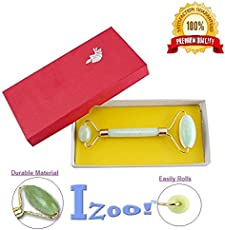 Izoo Jade Roller Stone Face Massager for Anti-Aging