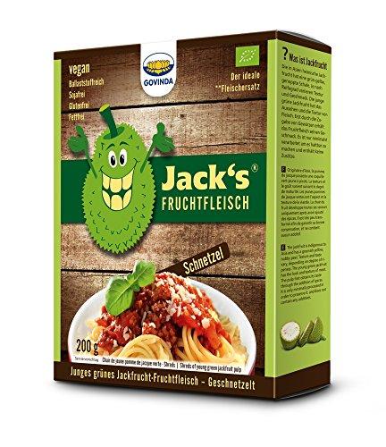GOVINDA Jack's Jackfrucht-Fruchtfleisch Schnetzel 218g (bio, vegan) Fleischersatz