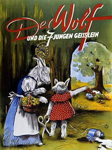 Rotkäppchen Und Der Wolf - Der Wolf und die 7 jungen