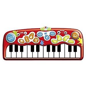 winfun - Alfombra piano gigante con luz, 179x78 cm (44257)
