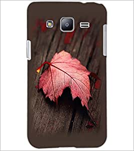 PrintDhaba Mapple Leaf D-2354 Back Case Cover for SAMSUNG GALAXY J2 (Multi-Coloured)