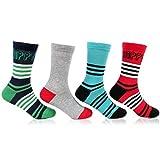 Bonjour Kids Fancy Socks for Pack Of 4 P...