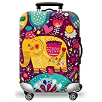TDC Elastic Luggage Cover Luggage Suitcase cover Super Lightweight Luggage Protector Dustproof Suitcase Cover