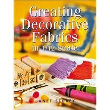 Creating Decorative Fabrics in 1/12 Scale