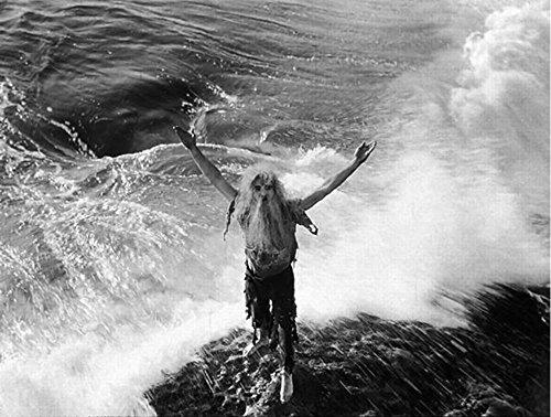 Vintage Foto von Unbarmherziger Sea