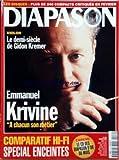 DIAPASON [No 434] du 01/02/1997 - VIOLON - LE DEMI-SIECLE DE GIDON KREMER - EMMANUEL KRIVINE - COMPARATIF HI-FI - ENCEINTES