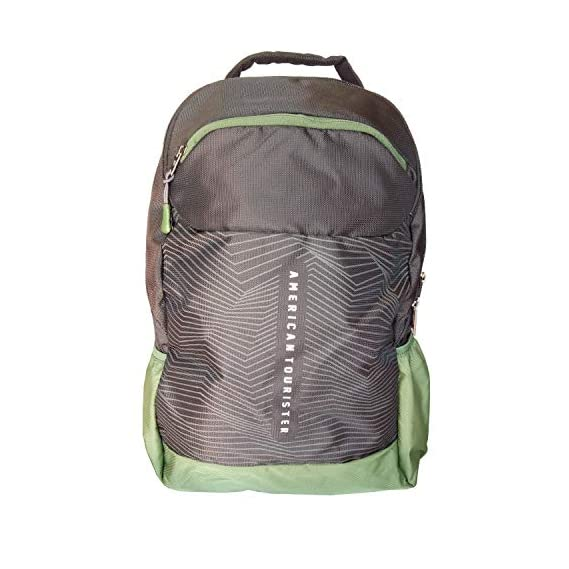 American Tourister Jazz Nxt 02 Black Olive Casual Backpack