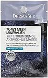 Aktivkohle Maske mit totes Meer Mineralien zur Tiefenreinigung 4x 12ml Gratis 4 div. Masken