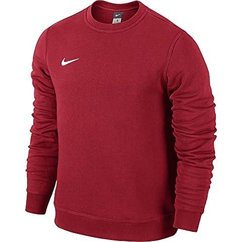Nike club team t-shirt à manches longues à encolure ras du cou L Multicolore - University Red/Football White