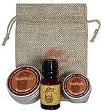 Coffret cadeau pour l'entretien de la barbe Bois de cèdre. Coffret cadeau pour l'entretien de la barbe