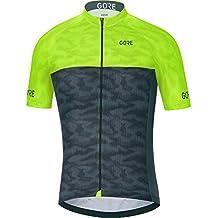 Gore Bike Wear 100221 Maillot, Hombre, Negro/Rojo, S amazon el-negro