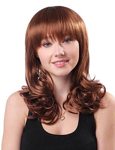 Fashion synthétique cheveux bouclés Perruques courtes perruque