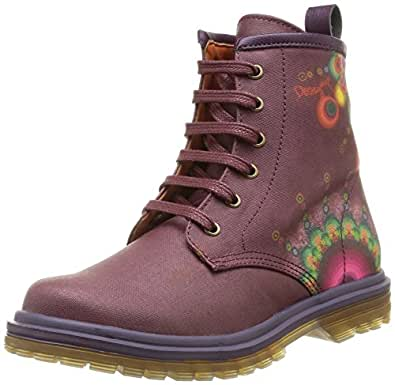 Desigual Clara, Bottines fille - Violet (3086 Shadow Purple), 27 EU (9 Kinder UK) EU