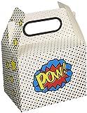 Ginger Ray Pow Superhero Party Kinder Party Boxen x 5 - Comic Superhelden
