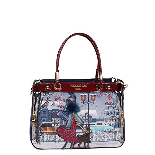 nicole-lee-joanna-loves-snow-print-mini-bag