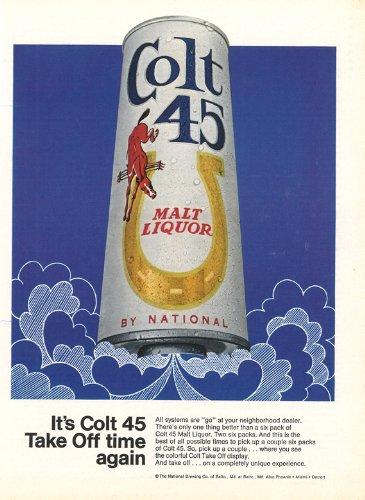 colt-45-licor-de-malta-art-print