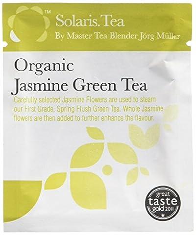Solaris.Tea Organic Jasmine Green Tea (Pack of