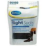 SCHOLL Flight Socks Cotton Feel Size 9.5-12 X3