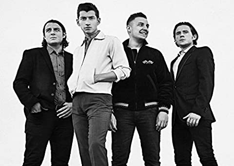 6 Arctic Monkeys Alex Turner Mat helders Jamie Cook Nick O
