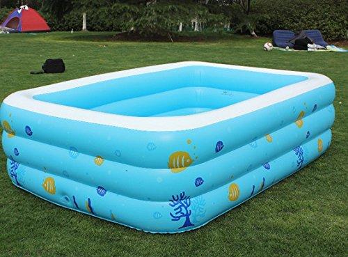 LIVY Verdickung erhöht Familie aufblasbare Schwimmbecken Super Marine ball Pool Erwachsene Bad Becken
