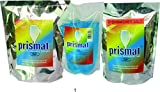Prismat Dishwasher Set - 2 X 1 Kg Detergent, 1 X 500 Ml Rinse Aid, 1 X 1 Kg Salt - Perfect Performance In All Dishwashers