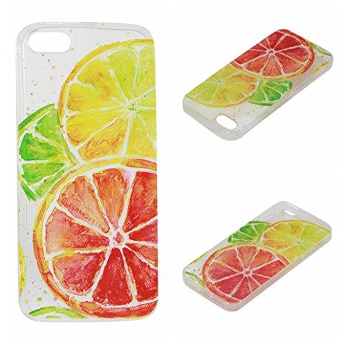 Voguecase® für Apple iPhone 6/6S 4.7 hülle, Schutzhülle / Case / Cover / Hülle / TPU Gel Skin (Mädchen im weißen Kleid 04) + Gratis Universal Eingabestift Zitrone 04