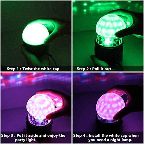 Zoom IMG-3 luci discoteca led emooqi lampada