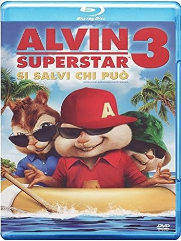 Alvin Superstar 3 - Si salvi chi può!(+DVD+digital copy) [Blu-ray] [IT Import]