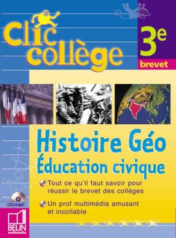 Histoire et géographie - éducation civique 3e