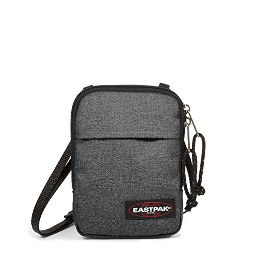 Eastpak Buddy Umhängetasche, 18 cm, Grau (Black Denim)