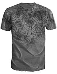 New Rock - T-Shirt Spider Web (in L)