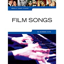 Music Sales Ltd. Really Easy Piano: Film Movie Songs With 24 Melodies Music Score Piano (Simplified Lord of the Rings, The Lion King). Ideal for beginners