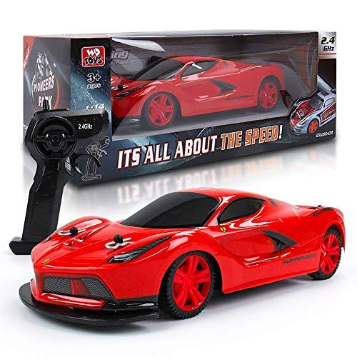 Pinjeer 1:14 oversize boy child 2.4ghz ricarica telecomando giocattolo auto high speed racing deriva a quattro ruote motrici toy car regalo di compleanno per bambini 3+