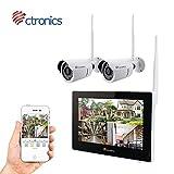 Ctronics überwachungskamera Set 2.4G