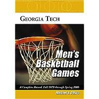 Georgia Tech Men's Basketball Games: A Complete Record, Fall 1979
