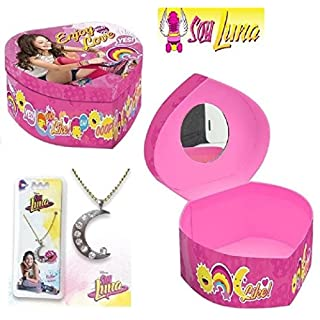 aucune SOY LUNA jewelry box + Gift necklace