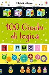 Idea Regalo - 100 giochi di logica. Piccoli passatempi. Ediz. a colori