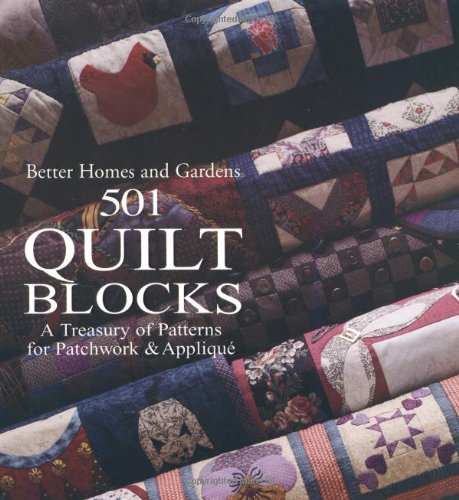 501 Quilt Blocks (Better Homes & Gardens Crafts)