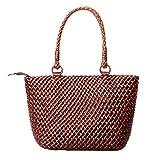 Insun ,  Damen Tasche, Braun - Kaffee - Größe: One Size