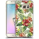 Head Case Designs Hawaïen Imprimées Tropicaux Étui Coque en Gel molle pour Samsung Galaxy S7 edge
