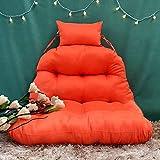 Cuscino di Oscillazione Sedia sospesa Reclinabile Seat Pad Easy to Clean Rimovibile Spessore Amaca Sedia Cuscini Comodissimo Eleganza,Color1