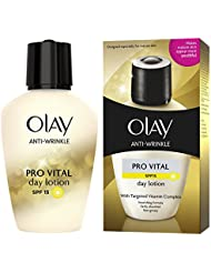 Olay SPF15 Anti-Wrinkle Pro Vital Anti-Ageing Moisturiser Day Lotion, 100ml