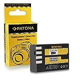 Batteria D-Li109 DLi109 per Pentax K-2 | K-30 | K-50 | K-500 | K-r e più... [ Li-ion; 900mAh; 7.4V ]
