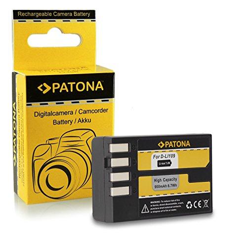 Galleria fotografica Batteria D-Li109 DLi109 per Pentax K-2 | K-30 | K-50 | K-500 | K-r e più… [ Li-ion; 900mAh; 7.4V ]