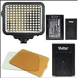 Vivitar VL-180 180 LED Light Panel For Camera/Camcorder
