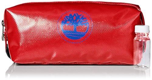 Timberland Men's Tarp Travel Kit, Red